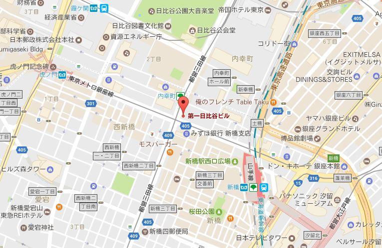 (株)マーケットリサーチセンター地図